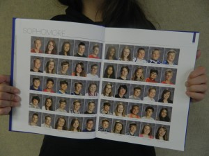 Portraits of students comprise the yearbook and immortalize students' smiles and personalities.