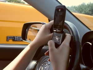 Ten percent of teen drivers admit to texting while driving.