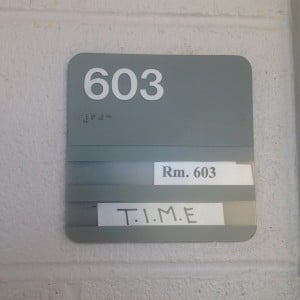BHS TIME classroom