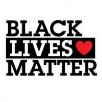 A logo for BLM to show support