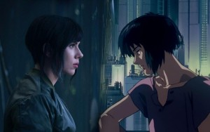 "Scarlett Johanson in the upcoming movie ""Ghost in the Shell"" Photo courtesy of Opus"