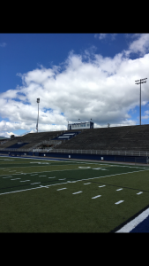 Brevard Memorial Stadium's Football/Soccer Field